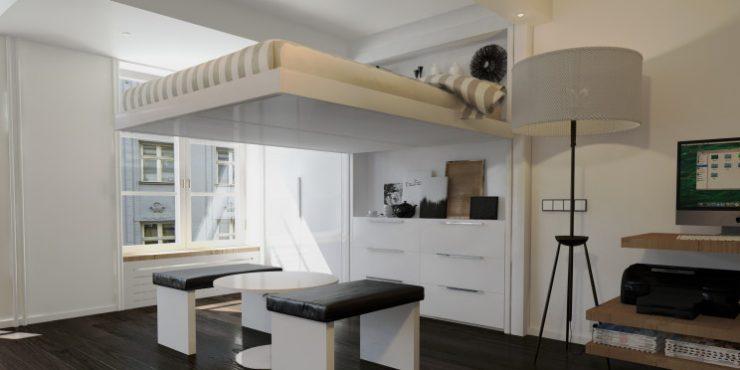 ¿Quieres aprovechar al máximo el espacio en tu hogar? Te lo diremos en dos palabras: Camas elevables.